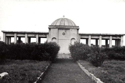 Mauzoleum na cmentarzu żydowskim, Białystok, ul. Żabia [nieistniejące/nonexisting]