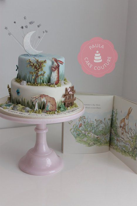 Wall Colour Inspiration: 'Guess How Much A Love You' Story Book Cake