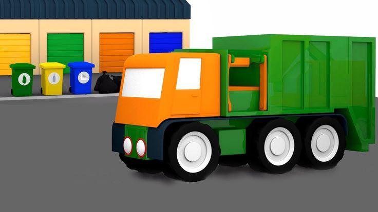 Cartoni animati per bambini: Macchinine Colorate: Come riciclare la spaz...