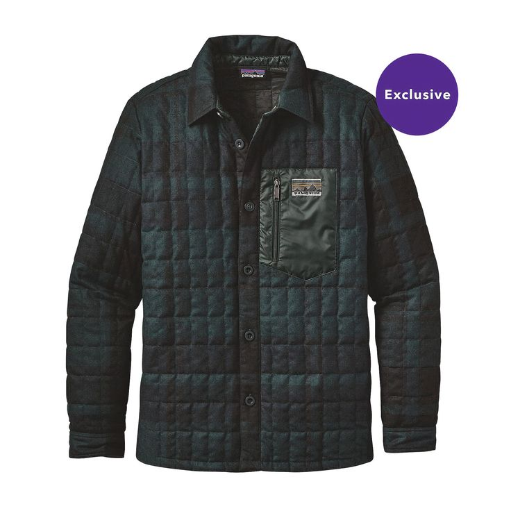 Patagonia Men's Recycled Down Shirt Jacket