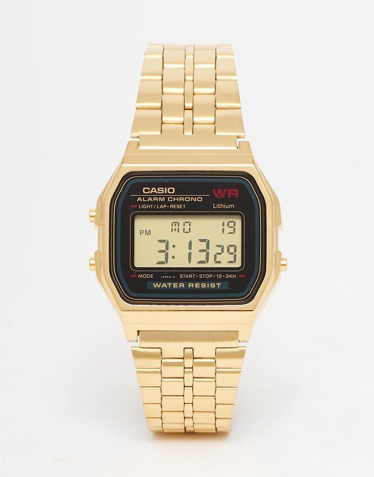 Image 1 - Casio - A159WGEA-1EF - Montre digitale dorée