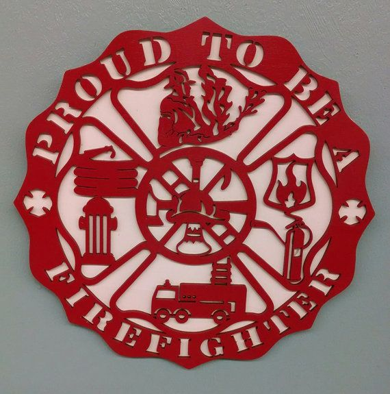 Proud to be a FireFighter Sign