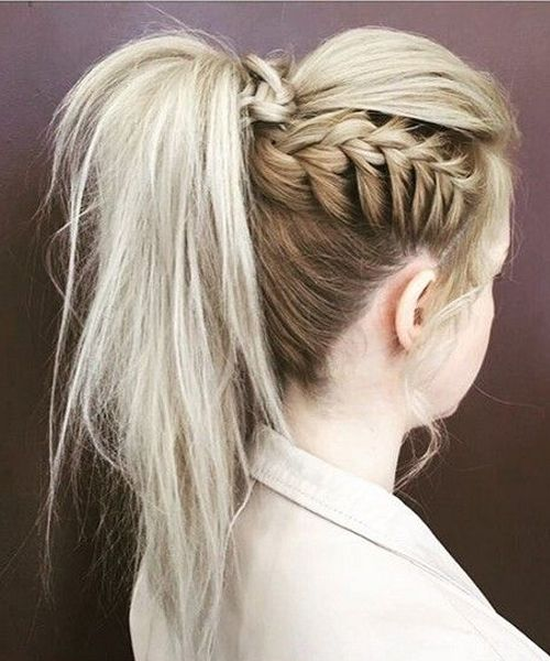 Marvelous High Pony Hairstyles 2018 for Teenage Girls