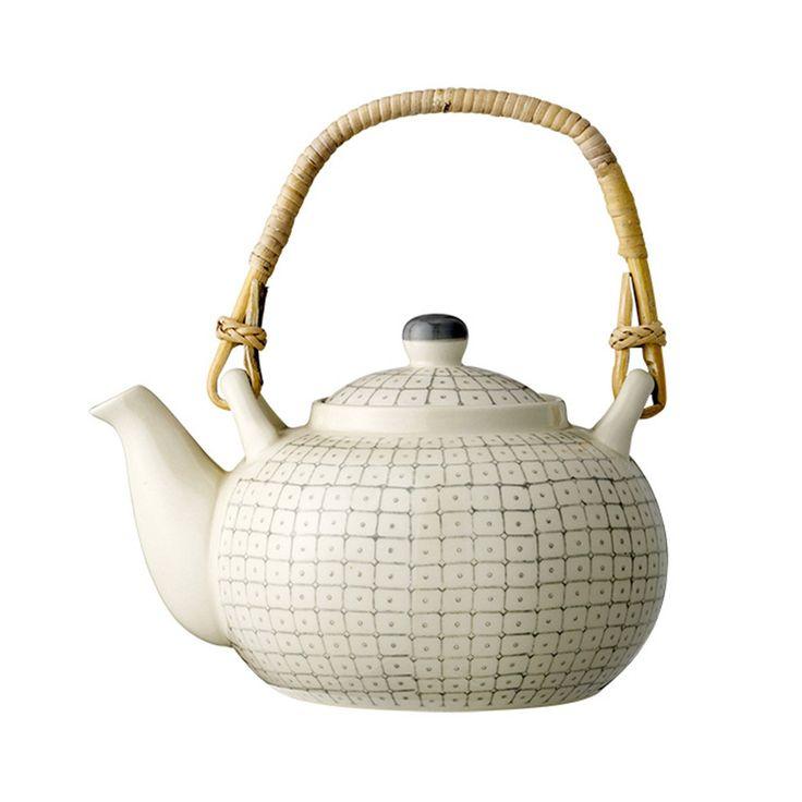 Discover+the+Bloomingville+Carla+Teapot+-+Grey+at+Amara