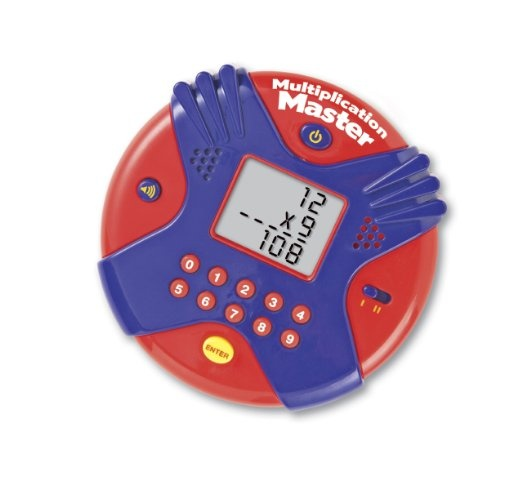 Amazon.com: Multiplication Master Electronic Flash Card: Toys & Games $14