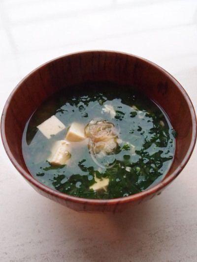 モロヘイヤのお味噌汁♪ by シニア野菜ソムリエ☆中村慧子さん ...