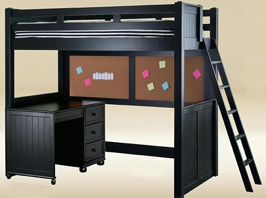 College+Loft+Beds | college loft bed maximize your space with the eberhardt college loft ...