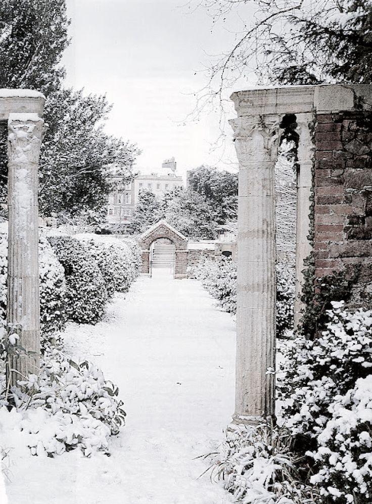 Les 365 meilleures images du tableau mon jardin en for Hiver au jardin