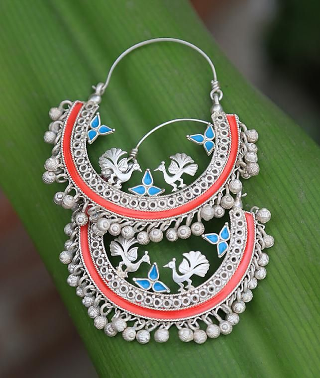 Buy Contemporary Charm by DEVI Colorful Traditional Silver Jewelry Online at Jaypore.com