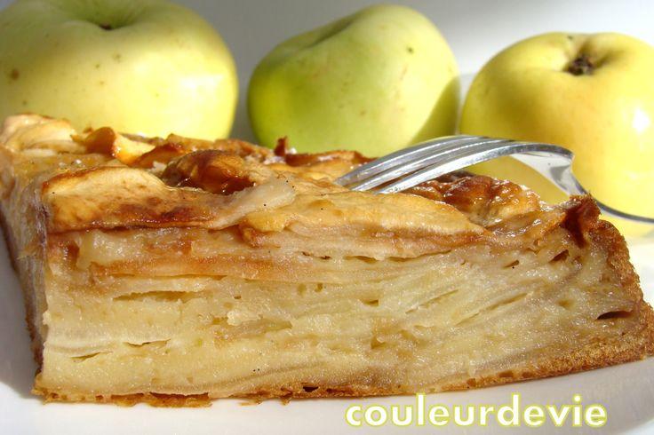 Gâteau invisible aux pommes | Couleurdevie