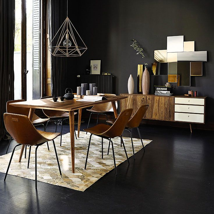 table stockholm maison du monde free lampadaire trpied en bois et coton h cm sven maisons du. Black Bedroom Furniture Sets. Home Design Ideas