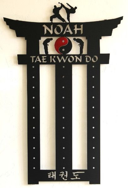 Tae Kwon Do Belt Display