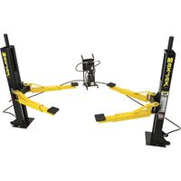 FREE SHIPPING — Dannmar MaxJax Portable Auto Lift — 2-Post System, Mid-Rise, Model# 120050/Maxjax
