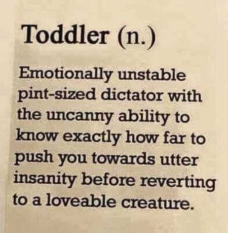 This would be Donald Trump but without the 'loveable creature' part.