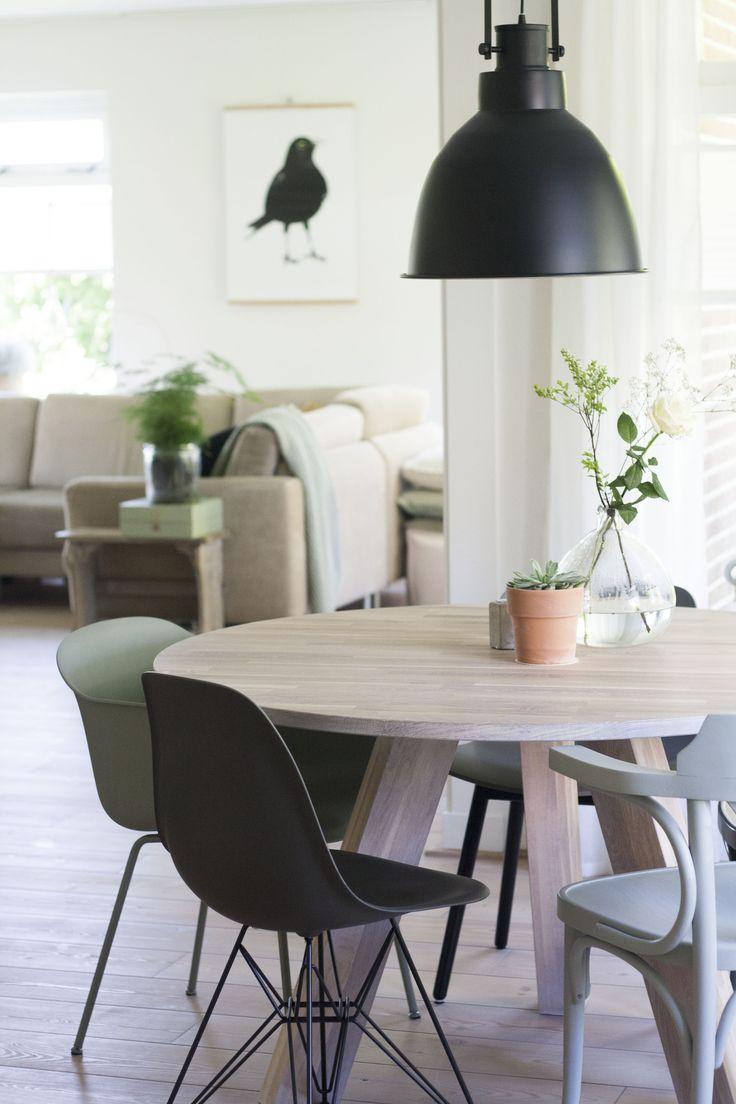 20 beste idee n over woonkamer groen op pinterest - Interieurontwerp thuis kleur ...