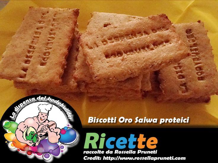 Biscotti Oro Saiwa proteici