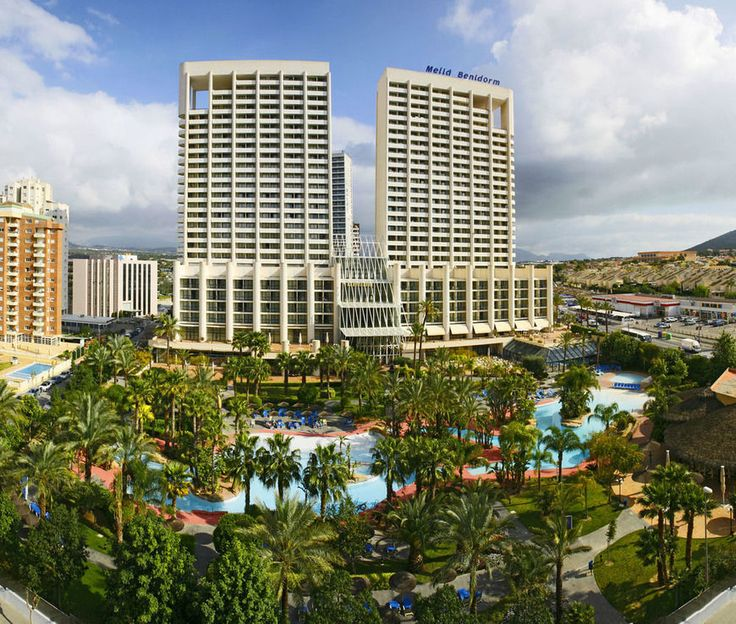 Melia Benidorm Hotel, Benidorm - Book your trip at www.alpharooms.com