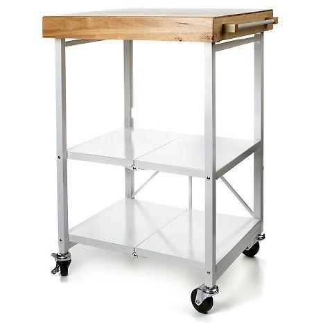 Hsn Origami Folding Island Kitchen Cart