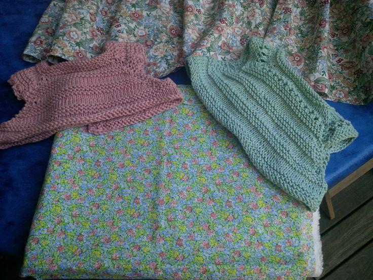 Imagine - knit topped dress 2