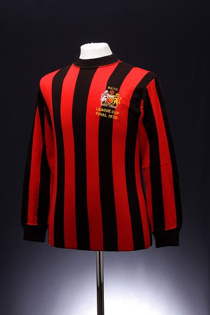 Manchester City Football Shirt (1970 League Cup Final) via @Next Sport Star