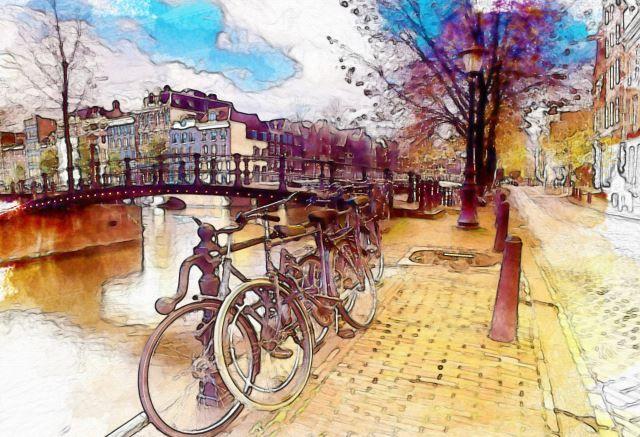 Bicycles Artist: Josef Klouda