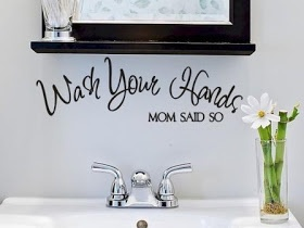 Art Wall Decor: Diy Bathroom Wall Decor ideas