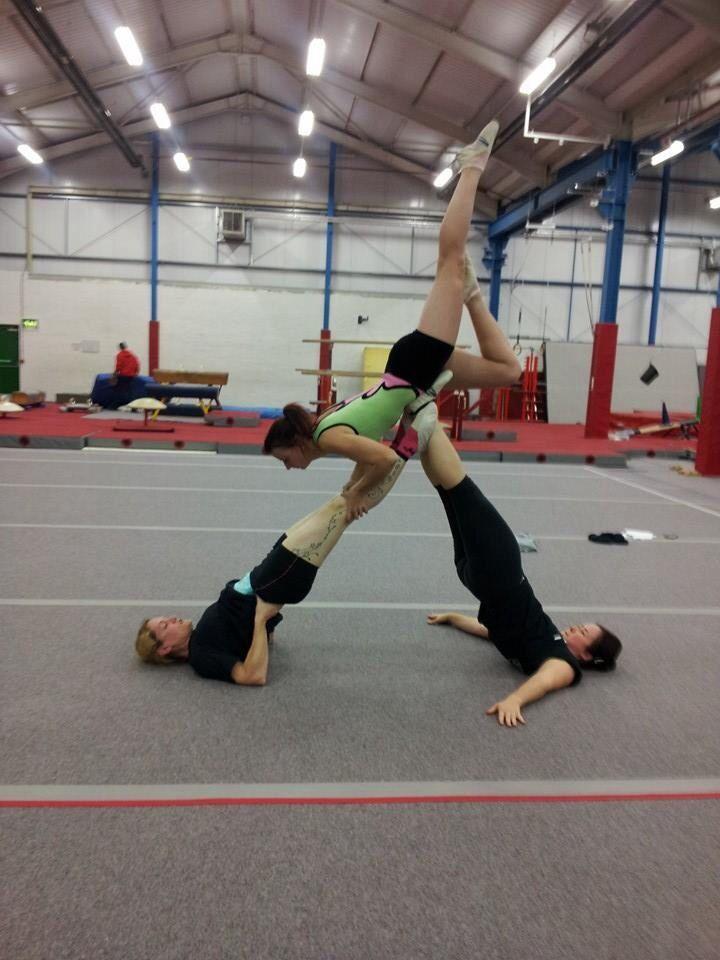 233 best Acro images on Pinterest | Acrobatic gymnastics ...