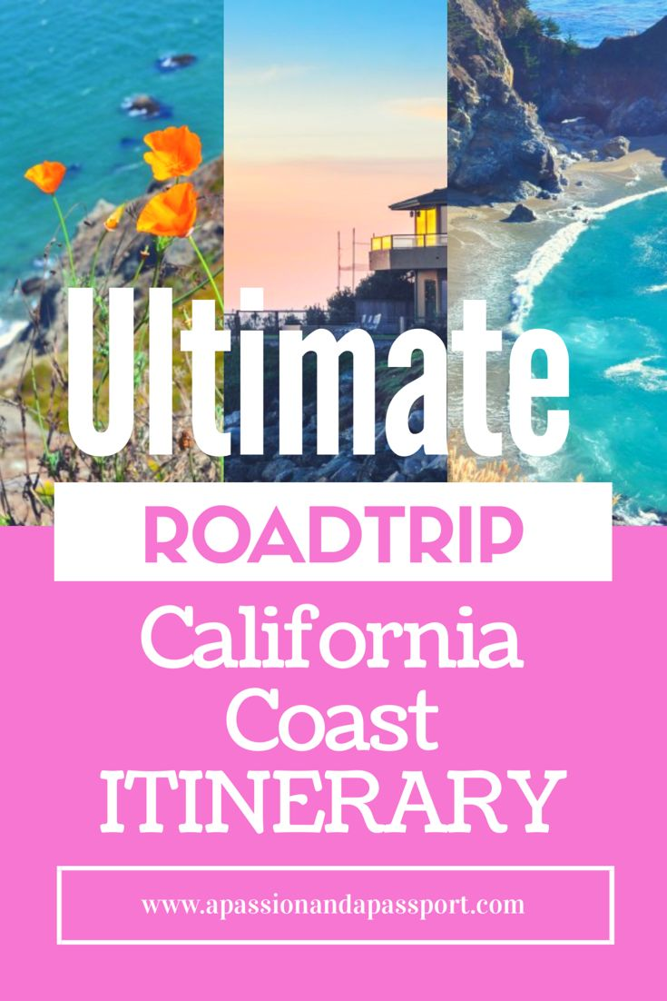 I wanna do this! A road trip down the California coast via the Pacific Coast Highway!  The only pin you'll need when planning your trip down the California coast!