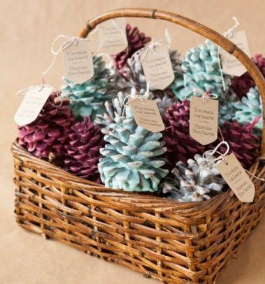 Pine cone fire starters - winter gift idea // Toboz gyújtósok - téli ajándék ötlet // Mindy - craft & DIY tutorial collection
