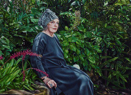 Natasha Bieniek: Wendy Whiteley :: Archibald Prize 2016 :: Art Gallery NSW
