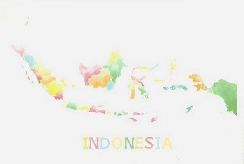 Peta Indonesia, keren kan?