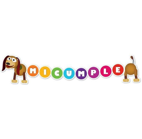 Guirnalda de Slinky // Perro de Toy Story