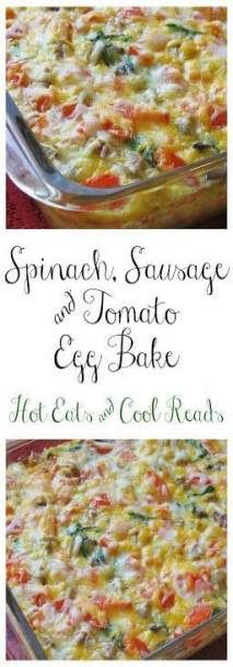 Breakfast Casserole Sausage Spinach Christmas Morning 60 New Ideas   – Food: Healthy Breakfast