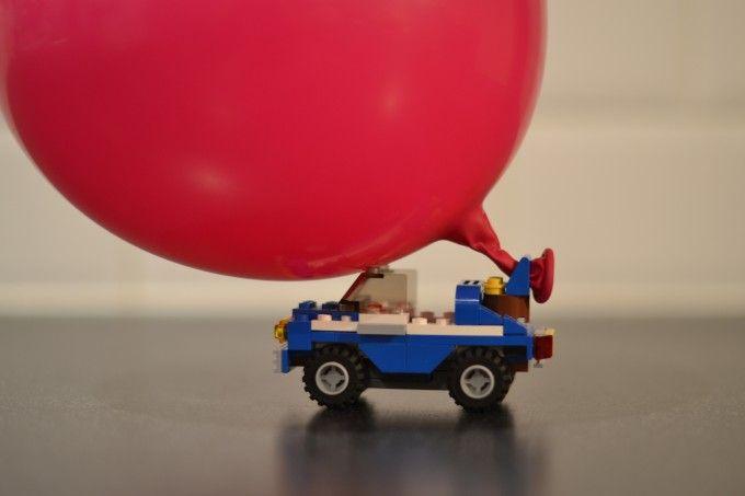 How to make a Balloon Powered LEGO Car