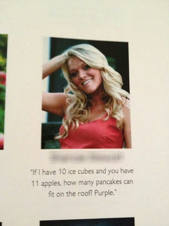 Best yearbook quote                                                                                                                                                                                 More