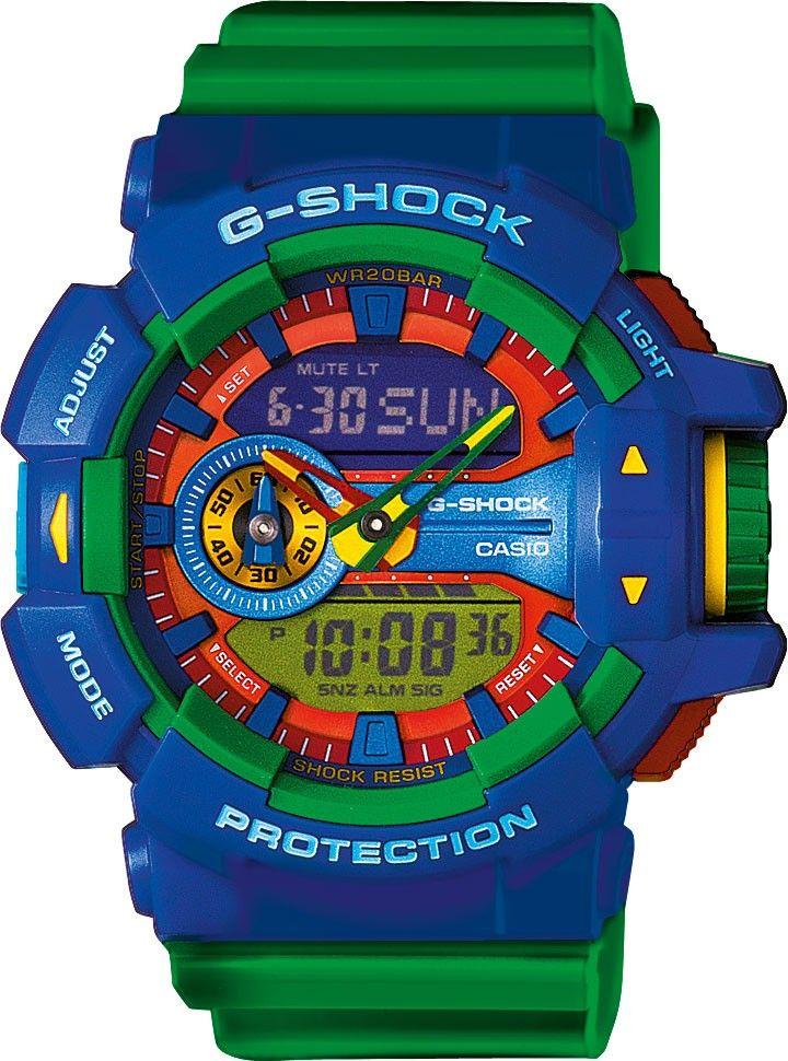 Casio G-Shock GA-400-2AER ★★★★★ - Gratis Verzending > € 49,- !