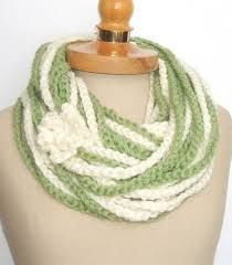 crochet infinity scarves - Google Search