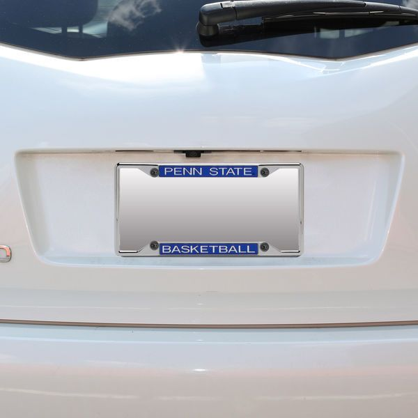 Penn State Nittany Lions Acrylic Basketball License Plate Frame