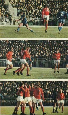 Greece 0 England 2 in Dec 1971 in Athens. Geoff Hurst's goal in the Euro '72 Qualifier.
