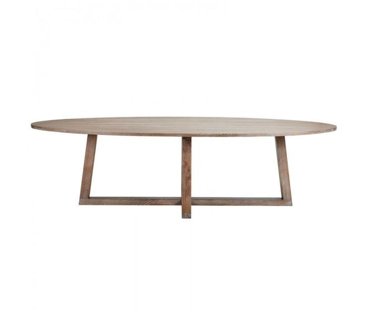 OVALIS oval dining table - La Maison