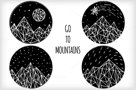 Call of mountains by Iliris on @creativemarket