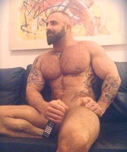 Hairy Chest, Gay Daddy, Daddies, Bear, Gay Bear, Hairy Men -8008