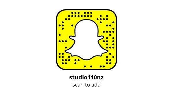 Don't forget to follow us on Snapchat for our daily adventures #studio110nz