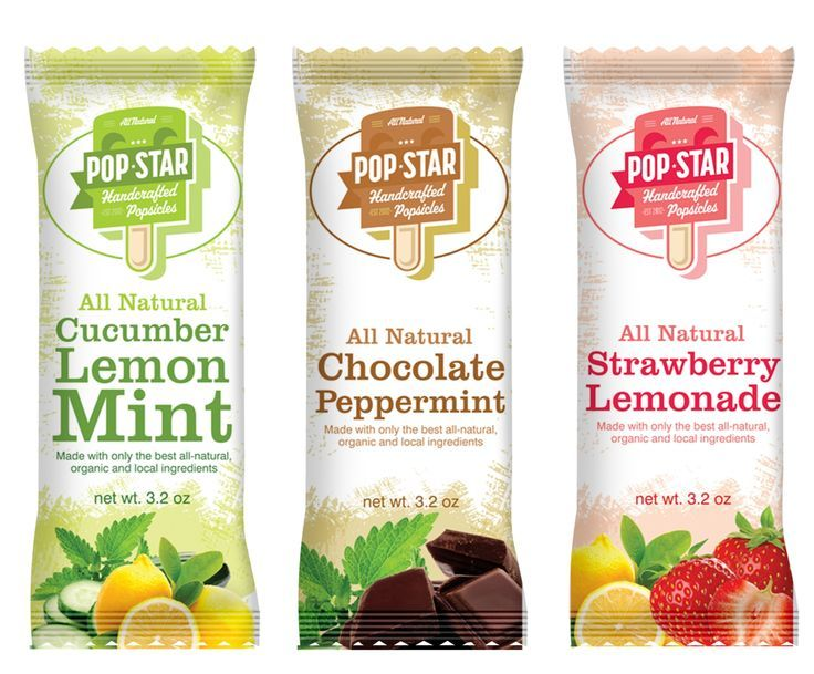 Pop Star Ice Cream Bar
