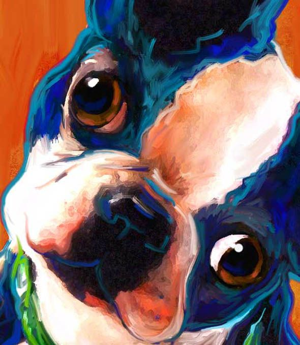 With a strikingly fresh style, Art Paws creates dog and cat portraits unlike anyone else.