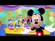 Canción de Feliz CUMPLEAÑOS infantil tradicional para Niños Mickey Mouse de Disney - YouTube