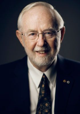 """Arthur B. McDonald, The Nobel Prize in Physics 2015: """"for the discovery of neutrino oscillations, which shows that neutrinos have mass"""""""