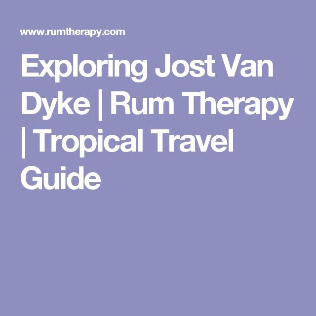 Exploring Jost Van Dyke | Rum Therapy | Tropical Travel Guide