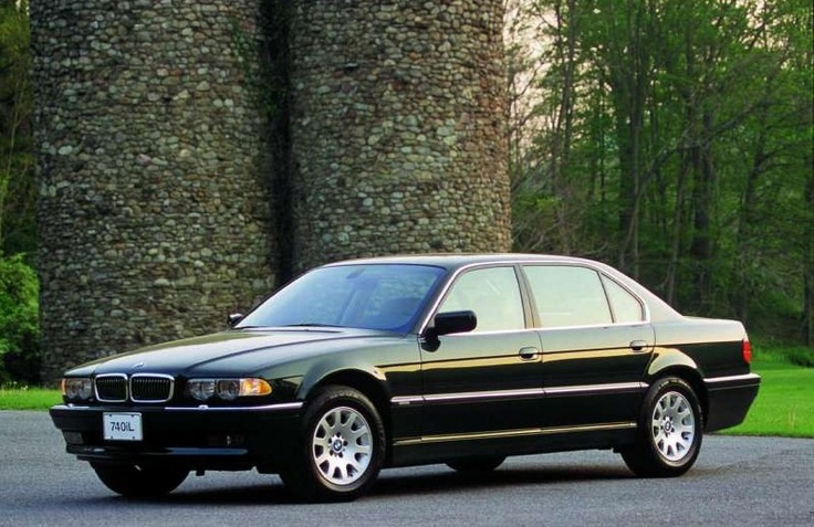 E38 BMW 740iL in Cosmos Black. BMW E38 Pinterest