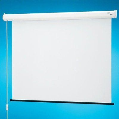 """129001 Baronet Motorized Projection Screen - 50 x 50"""" by Draper. $472.99. 129001 Features: -Low cost electric screen.-These projection screens warranted for one year against defects in materials and workmanship.. Options: -Depending on surface, available in sizes through 244cm x 244cm or 96'' x 96''.-Custom sizes available.. Specifications: -Screen with 3m power cord and in-line switch. 110V or 220V motor available.."""